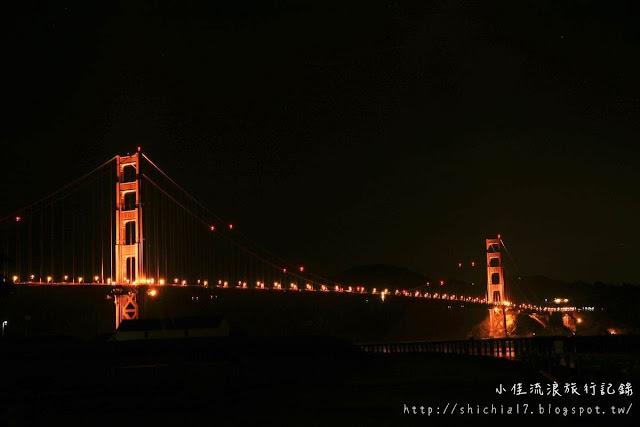 金門大橋與Twin Peaks夜景
