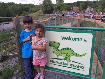Dinosaur Island at Southwater Country Park