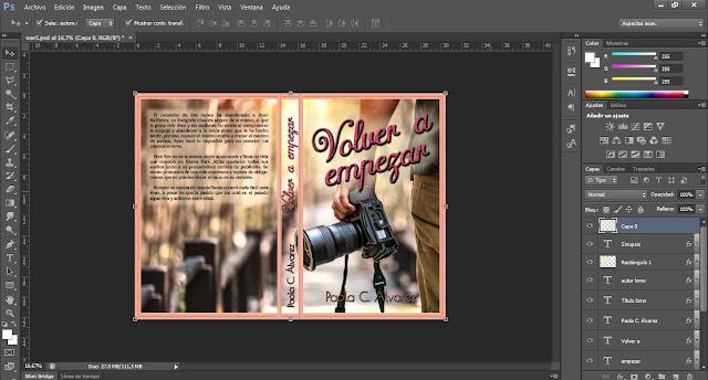 diseñar portada de novela romántica