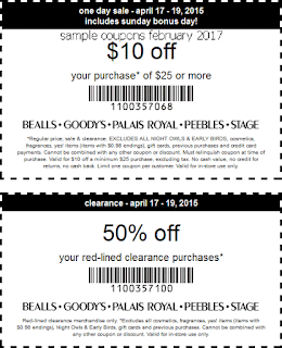 Bealls coupons february 2017