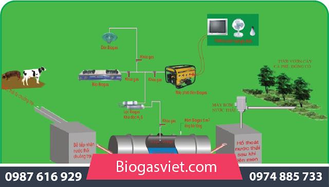 mô hình xử lý nước thải