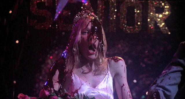 Sissy Spacek (Carrie) dans le film de de Palma inspiré de Stephen King (1976)