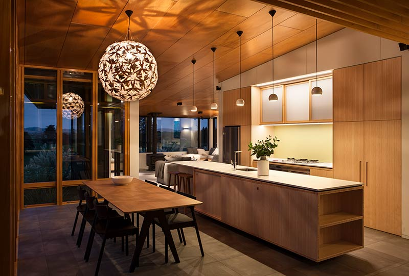 Casa rural com toque contempor neo arquitetando ideias for Kitchen designs photo gallery nz