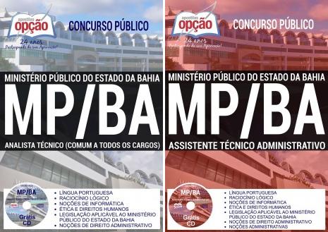 Apostila para o Concurso MPBA 2017 Assistente Técnico e Analista Técnico.