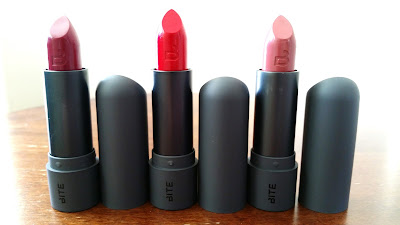 3 Bite Beauty Amuse Bouche lipsticks