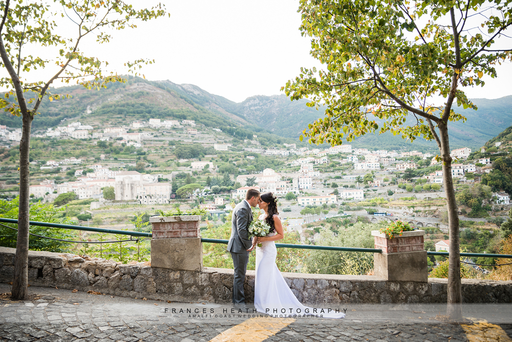 Rustic wedding in Ravello Italy