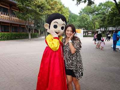 Korea Trip Day 3: Korean Folk Village & Everland Theme Park