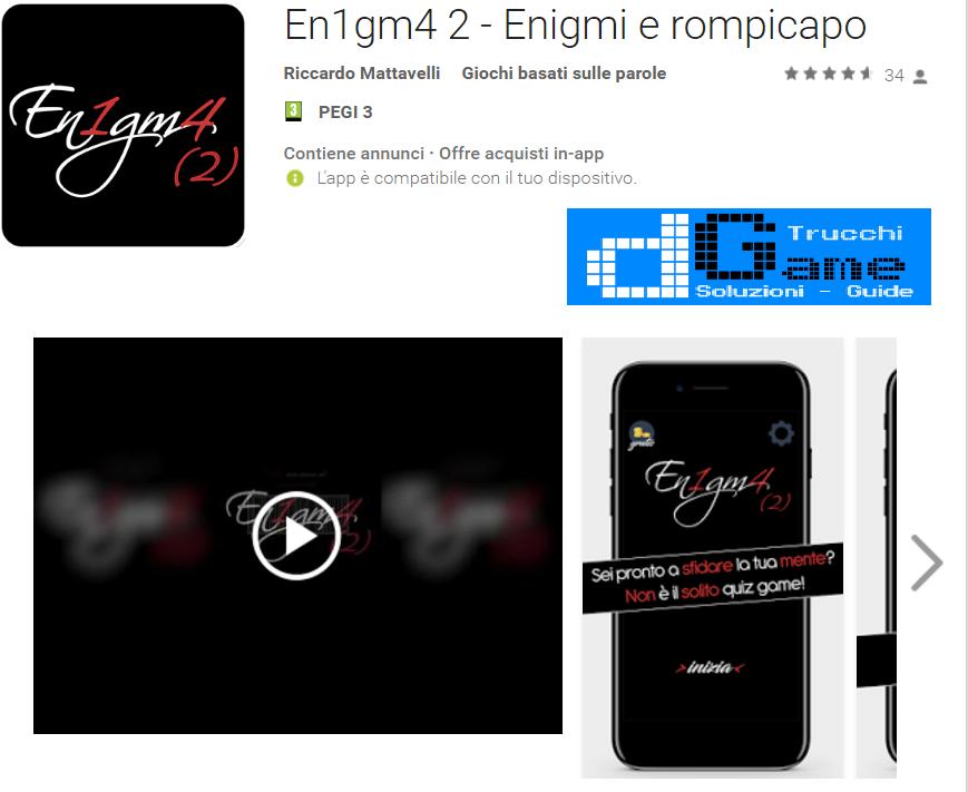 Soluzioni En1gm4 2 - Enigmi e rompicapo di tutti i livelli | Walkthrough guide