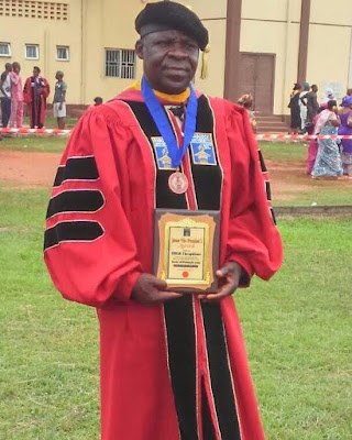 Nigerian Airforce Personnel Graduates As Best PhD Student At Babcock University