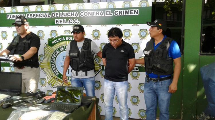 Gutiérrez creó la página Cachinoticias para difundir información y denuncias a través de Facebook