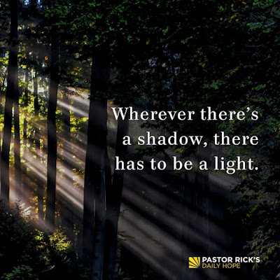 The Truth About Shadows by Rick Warren