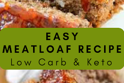 Easy Meatloaf Recipe   Low Carb And Keto