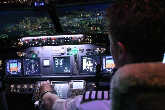 Singapura Flight Experiance