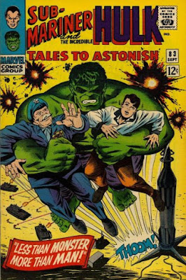Tales to Astonish #83, the Hulk