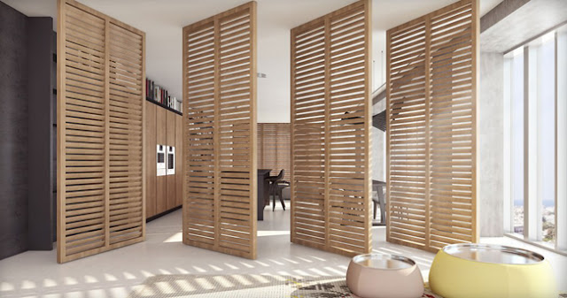 le claustra en bois l 39 alternative la verri re caract rielle. Black Bedroom Furniture Sets. Home Design Ideas