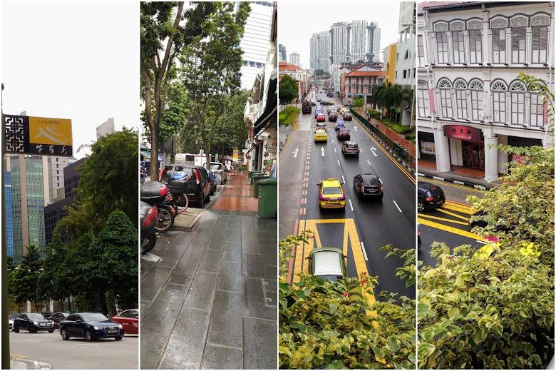 新加坡牛車水街景