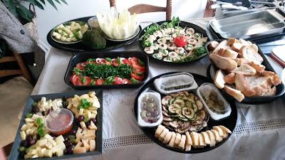 catering texel, italiaans eten