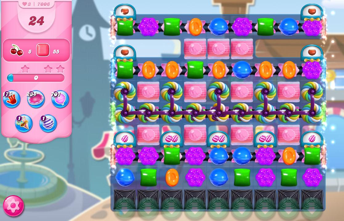 Candy Crush Saga level 7006