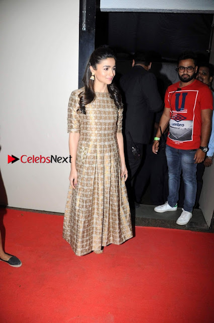 Bollywood Actress Alia Bhatt Stills at The Annual Central Excise Day Celetion  0004.jpg