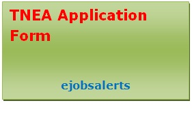 TNEA Application Form 2017