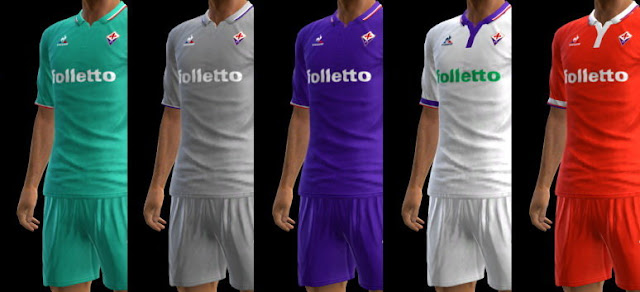 PES 2013 ACF Fiorentina Kit Season 2016-2017