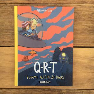 Q-R-T von Ferdinand Lutz, Kindercomic, Reprodukt, Rezension von Kinderbuchblog Familienbücherei