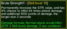 naruto castle defense 6.0 Brute Strength!! detail