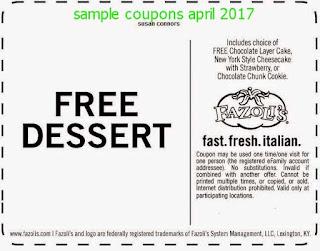 free Discount coupons april 2017