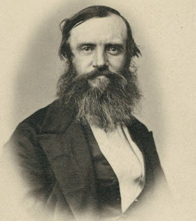 Photo of John McDouall Stuart with a full beard