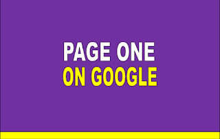 Cara agar tulisan masuk halaman pertama