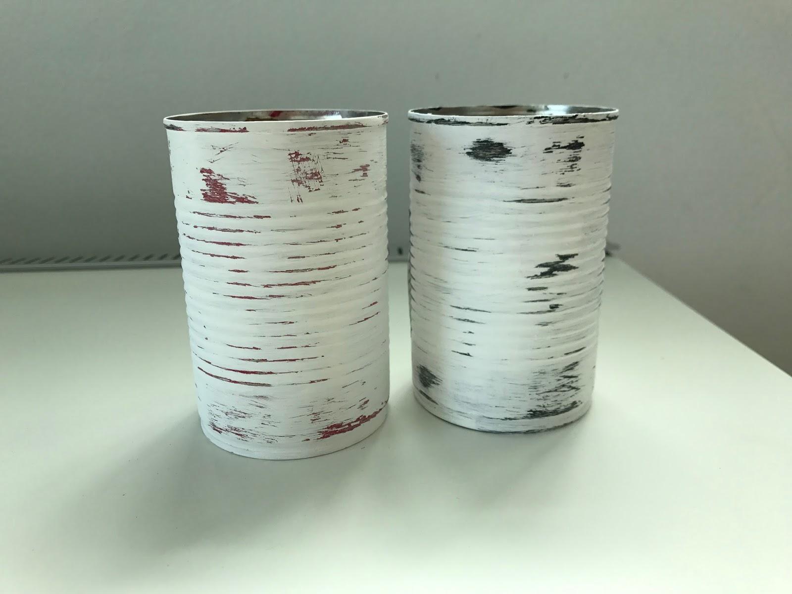 Borboleta: Reciclaje: latas vintage
