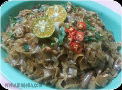 Resepi Mee Kuey Teow Goreng Mudah Dan Sedap