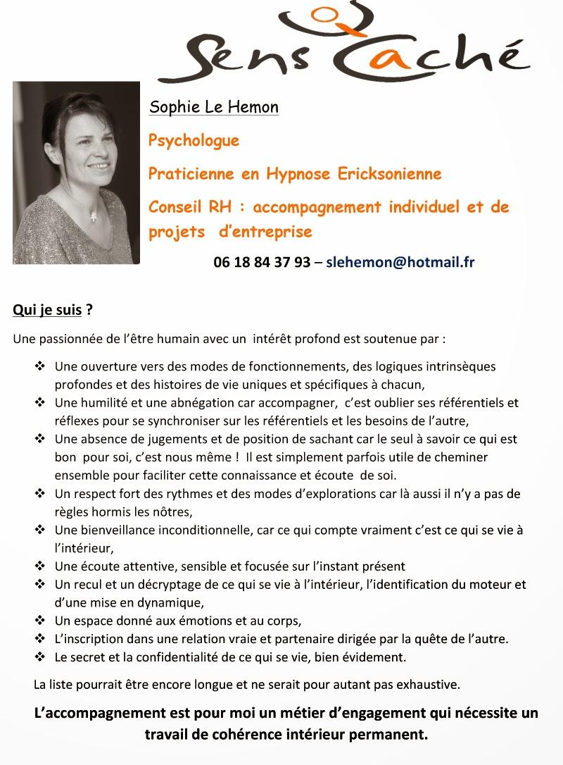Psychologue Praticienne en Hypnose Ericksonienne Conseil RH : accompagnement individuel et de projets  d'entreprise