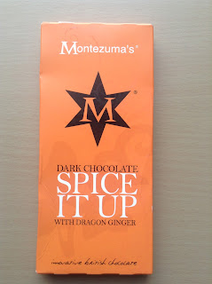 Montezuma's Spice It Up Dark Chocolate with Dragon Ginger