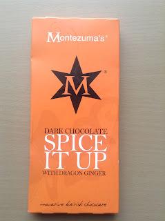 Montezuma's Spice It Up Dark Chocolate with Dragon Ginger