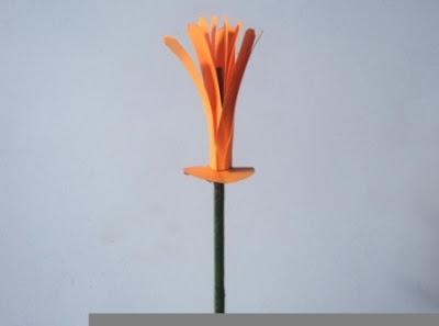 bikin tangkai bunga