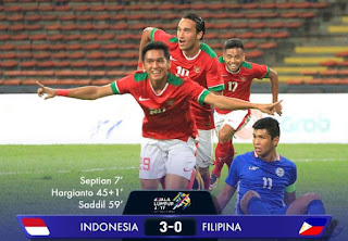 Video Gol Indonesia vs Filipina 3-0 SEA Games 2017
