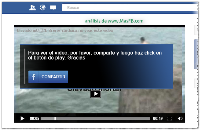 Compartir para ver el video MasFB