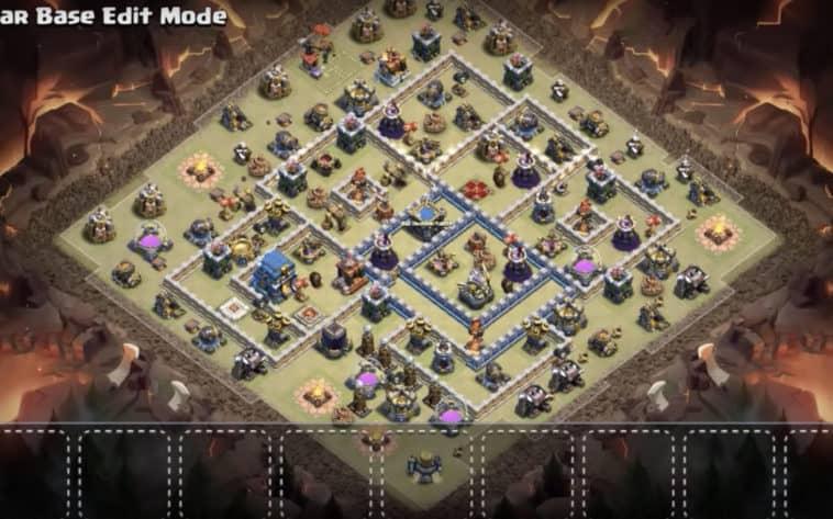Base War Th 12 Anti 1 Star 10