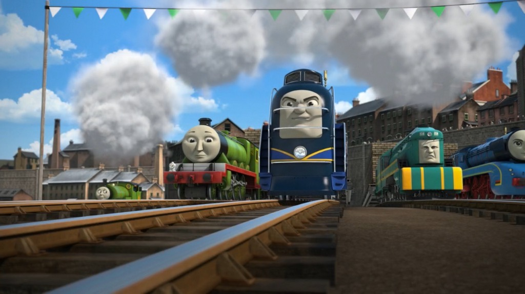 yong bao debuts in the great race dvd thomas amp friends