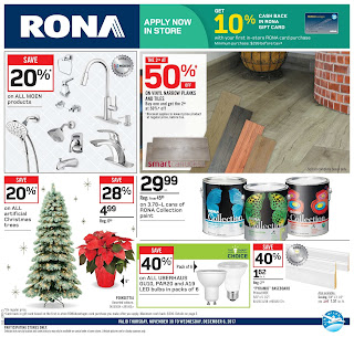 Rona weekly flyer November 30 - December 6, 2017