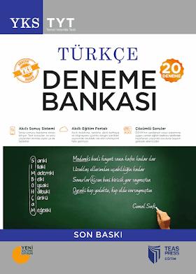 Teas Press 20 TYT Türkçe Deneme Bankası PDF