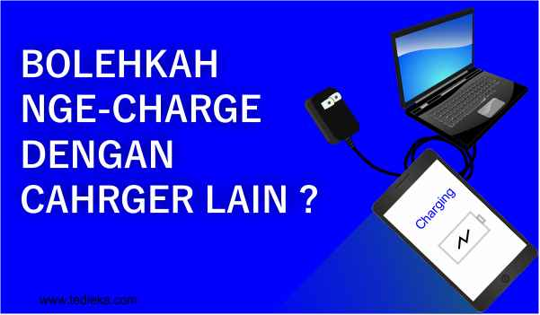 Nge-charge laptop dengan charger lain