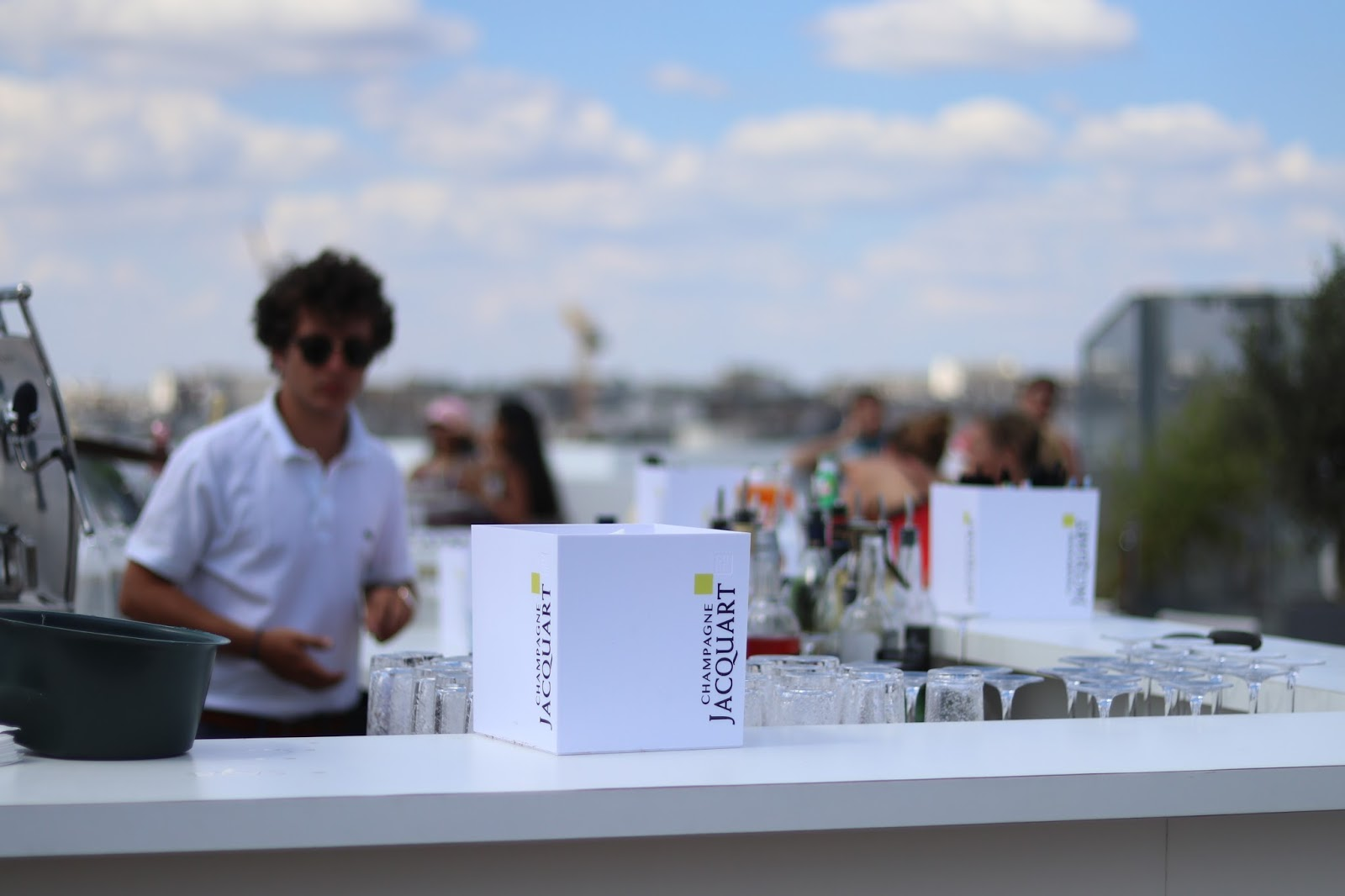 Galeries Lafayette rooftop Bar, Paris, France