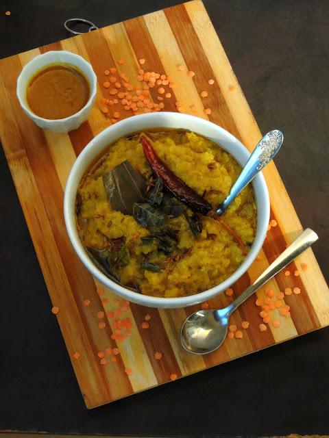 Masoordal Quinoa Khichdi, Quinoa Khichdi