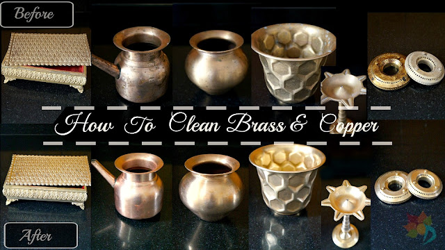 Brass And Copper Cleaning At Home