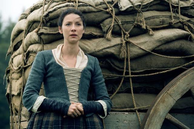 """Claire en el 2x09 """"Je Suis Prest"""" de 'Outlander'"""