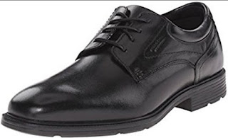 Comfortable Work Shoes for Men Standing All Day-Rockport shoes with Margin Oxford type