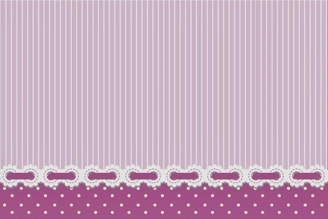 Rayas y lunares en lila y blanco invitaciones para for Paginas para hacer planos