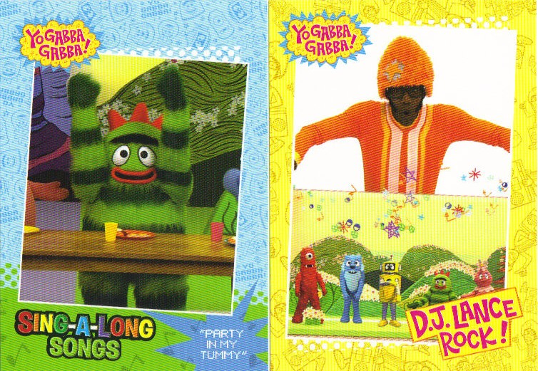 a pack to be named later 2012 press pass yo gabba gabba